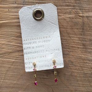 Anthropologie Matchstick Earrings